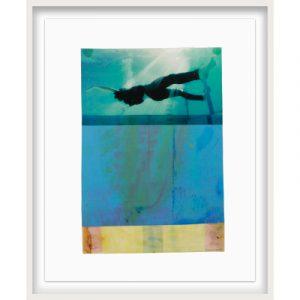 Don Maynard, Floating Into Light, 2021, 20 x 16, Framed, Newzones Gallery, Calgary, Canada